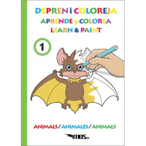 "Depren i Coloreja nº1 ""Els Animals"""